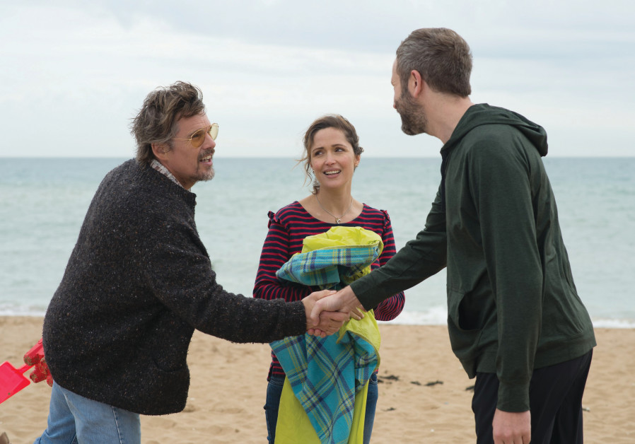 FROM LEFT, Ethan Hawke, Rose Byrne and Chris O'Dowd in 'Juliet, Naked'