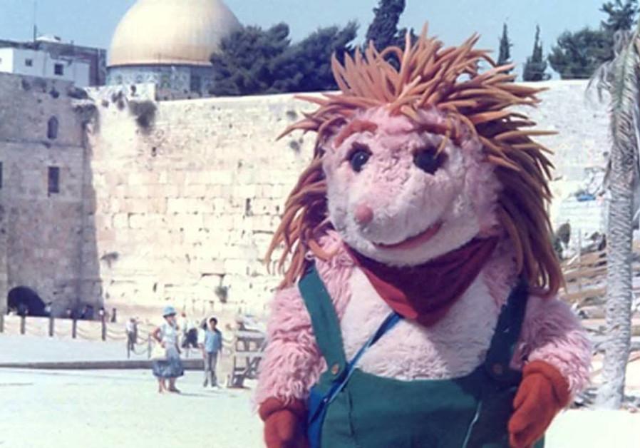 Kippi Ben Kippod in front of the Western Wall