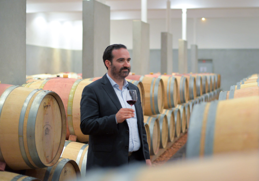 Menahem Israelievitch, winemaker of Royal Wine Europe