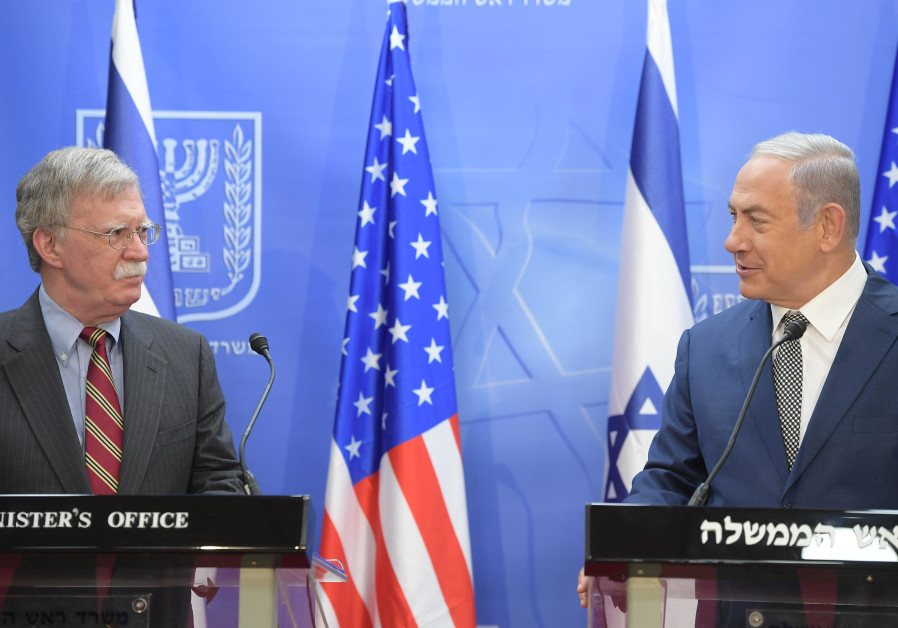 Bolton: U.S. strongly supports Israel's efforts against Hezbollah