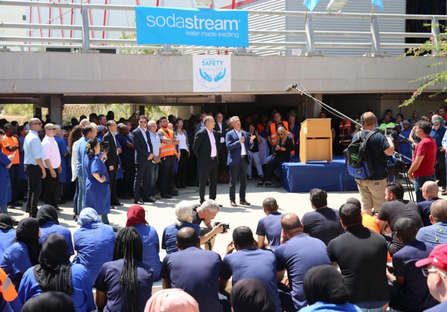 Sodastream sold to Pepsico for 3.2 billion dollars, Aug 20, 2018