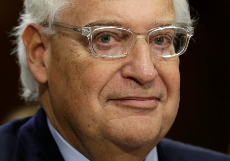 United States Ambassador to Israel David Friedman
