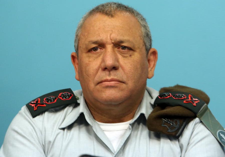 Gadi Eizenkot IDF Chief of Staff Lt.-Gen.