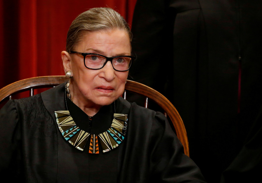 Ruth Bader-Ginsburg, a progressive icon on the Supreme Court.