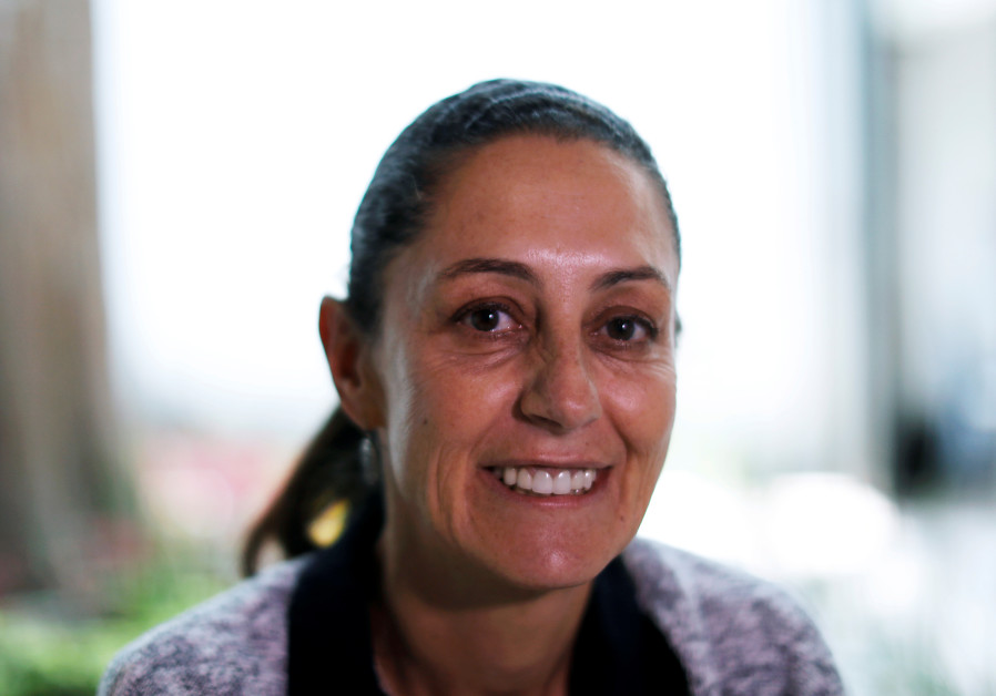 Claudia Sheinbaum, the first Jew as well as woman to be elected as mayor of Mexico City.