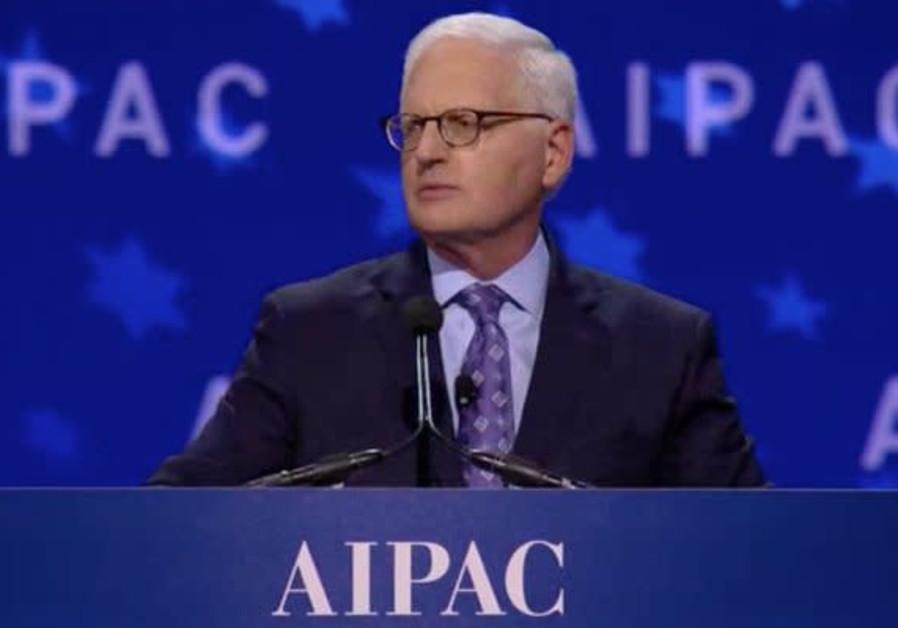 AIPAC's longtime executive director Howard Kohr.