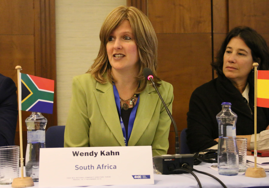 South African Jewish Board of Deputies national director Wendy Kahn.