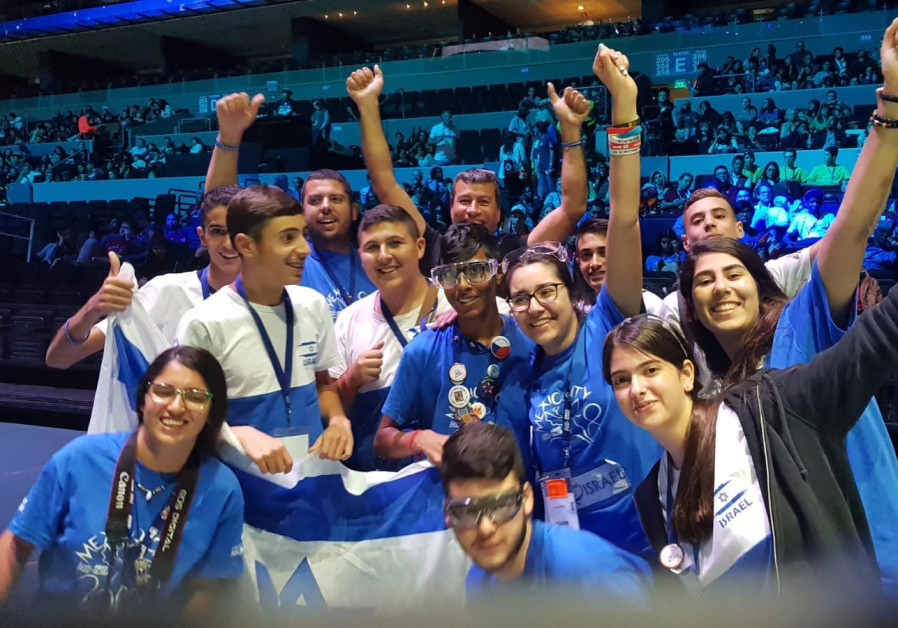 Dimona teenagers win 4th place overall for Israel in robotic Olympics