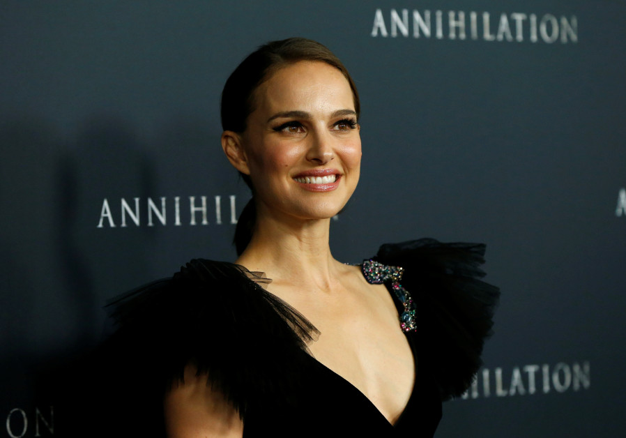 "Cast member Natalie Portman poses at the premiere for ""Annihilation"" in Los Angeles, California, U.S"