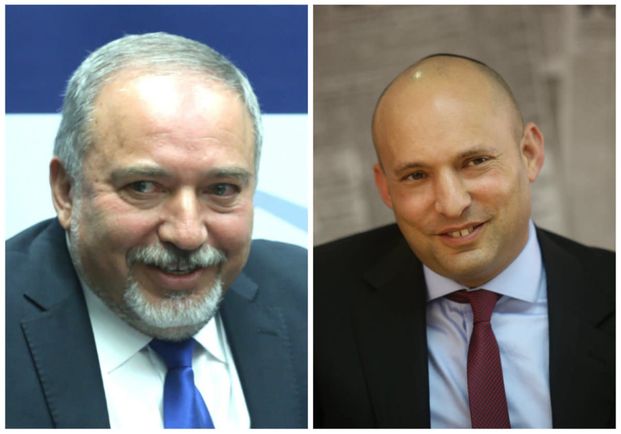 Bennett and Liberman push for unity government without Joint List