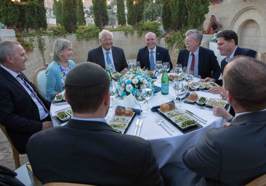 Historic working dinner for senior United States and Israeli officials was hosted in the City of Dav