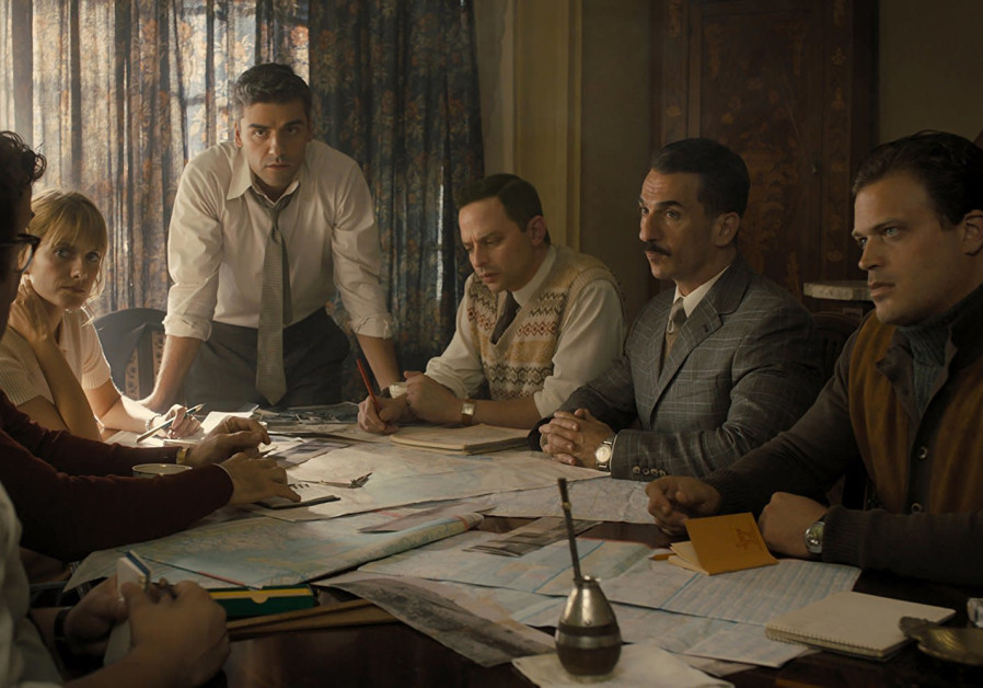 A scene from 'Operation Finale' of the Mossad operation to hunt down and capture Holocaust mastermin