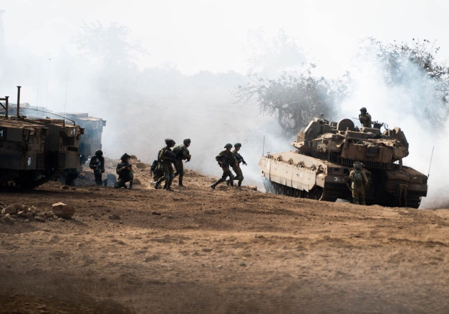 IDF soldiers of the Golani Brigade train for scenarios involving enemies similar to Hezbollah.
