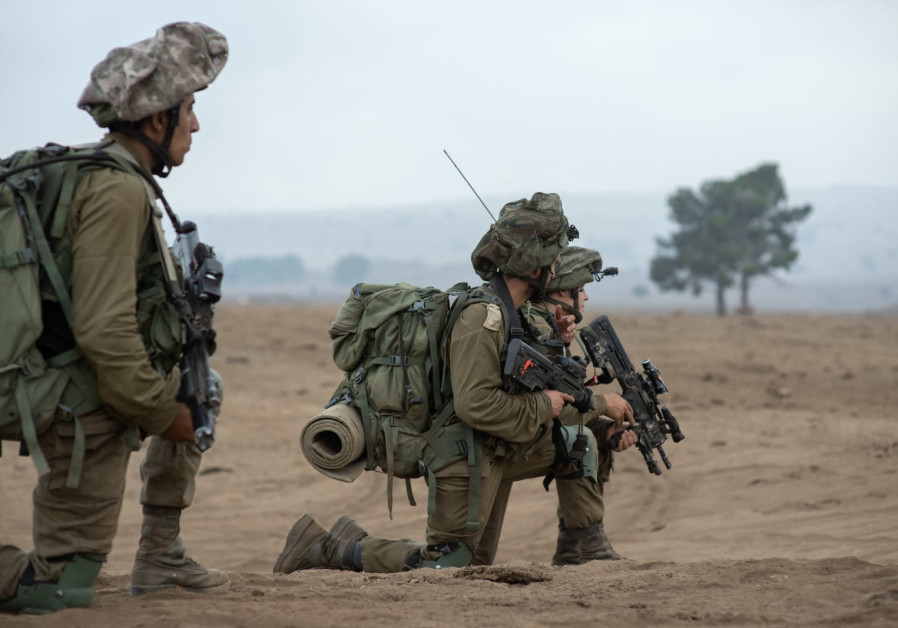 IDF soldiers of the Golani Brigade train for scenarios involving enemies similar to Hezbollah.