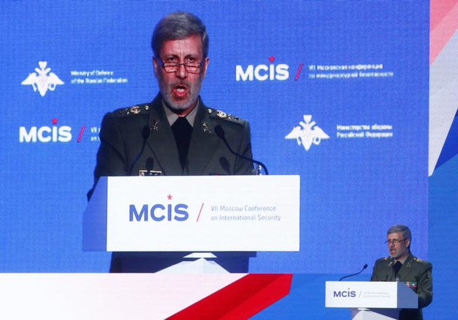 Iran Defense Minister in Damascus, says Will Help Rebuild Syria