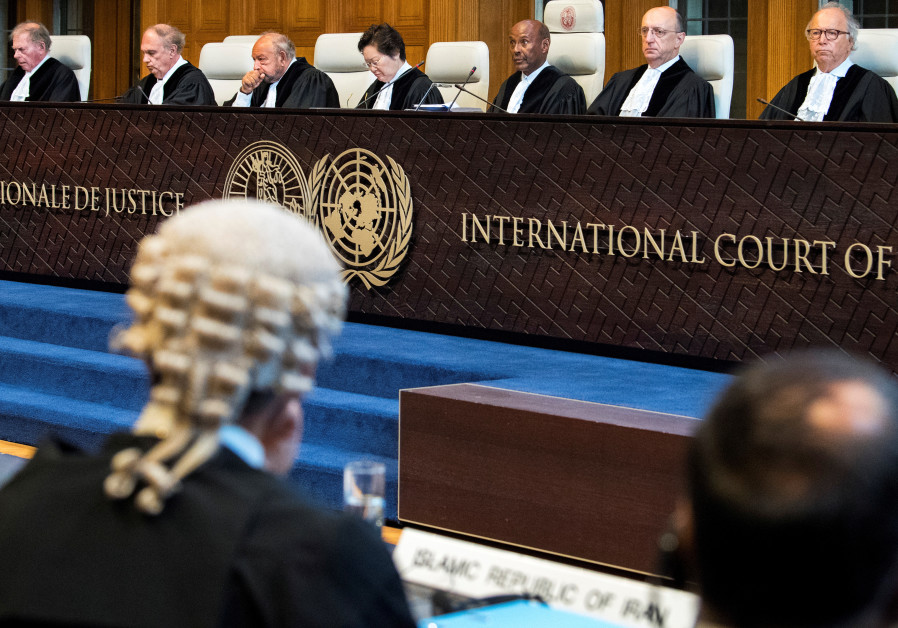 Report: Iran misusing World Court with suit aimed at lifting