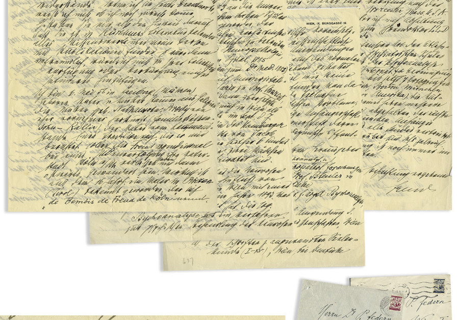 Sigmund Freud's letter describing his Jewish background and education (August 27, 2018).