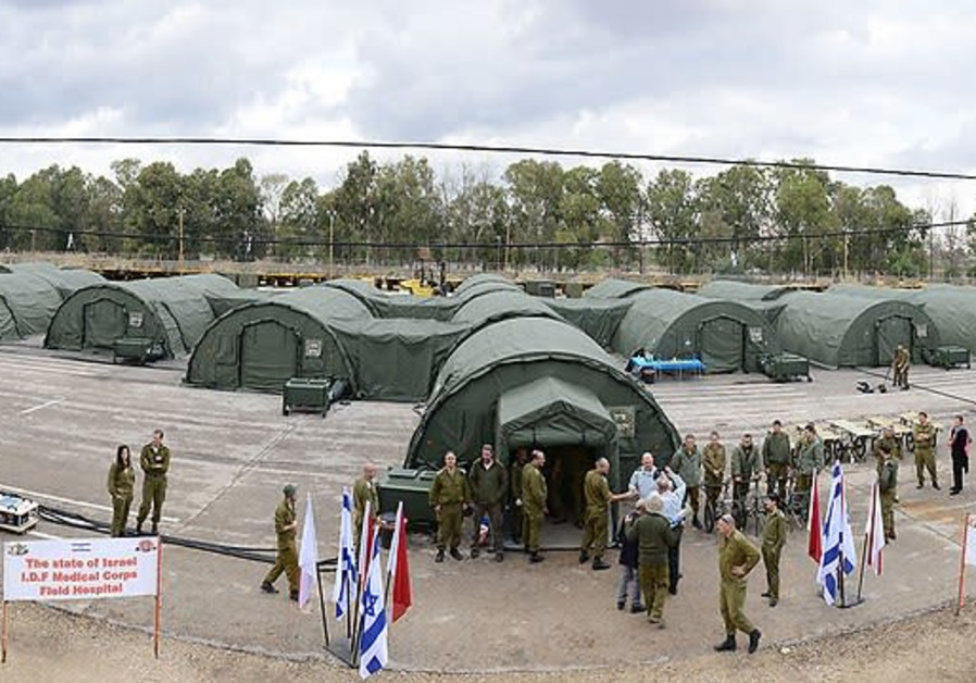 Israel Ebola field clinic in Africa - Photo Credit israelheute.com & NewsBlaze