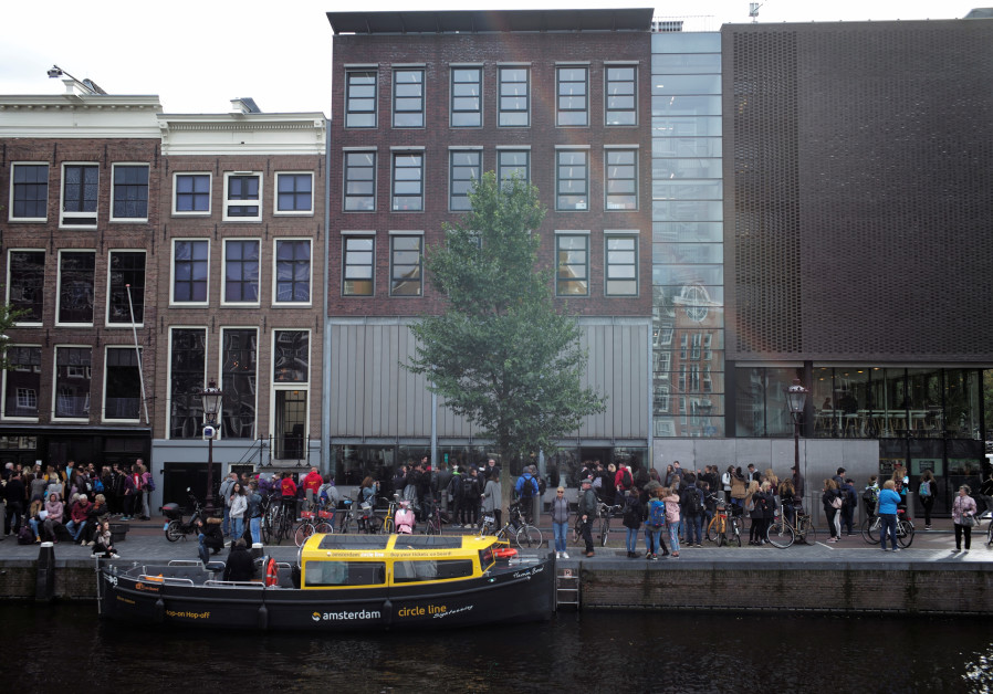 A view of Anne Frank House in Amsterdam, Netherlands October 4, 2017.