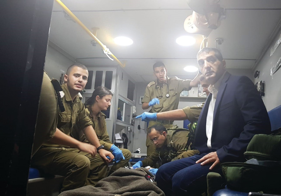 SHEBA MEDICAL CENTER Director General, Prof. Yitshak Kreiss and IDF combat medics