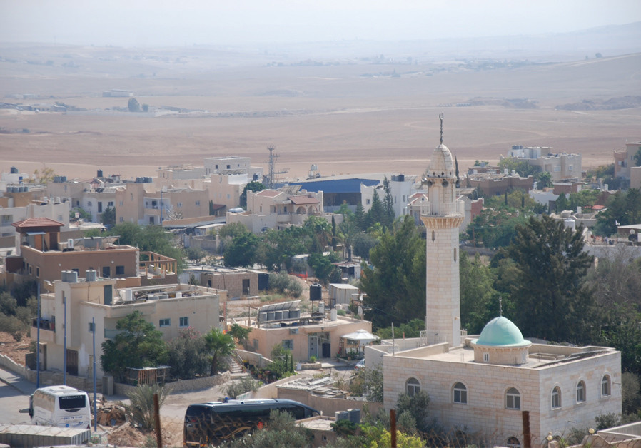 A VIEW of the village of Drijat, located in the Negev desert.