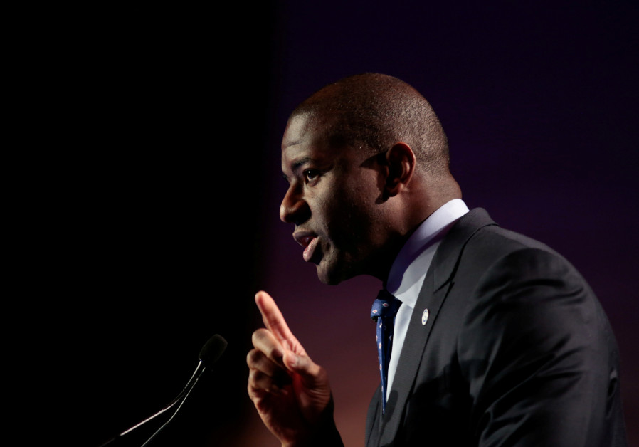 Tallahassee, Florida Mayor, Andrew D. Gillum at annual conference (August 10, 2017).