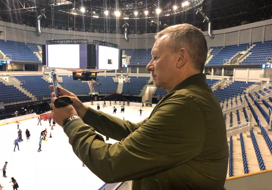 THE EBU's Jon Ola Sand visits Jerusalem's Payis Arena this week