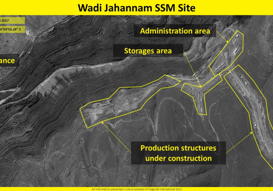 New images show Iranian surface-to-surface missile facility in Syria