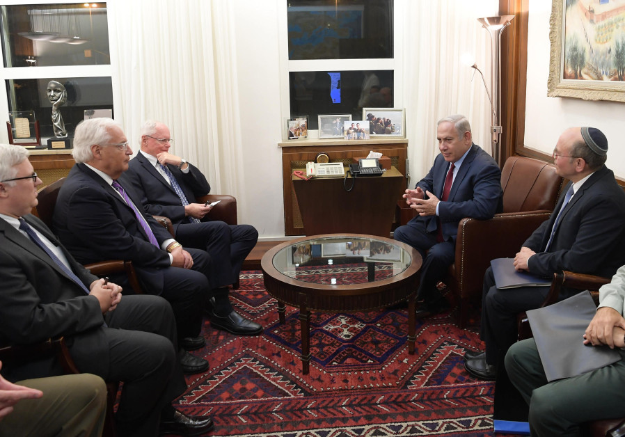 PM Netanyahu Meets with US Special Representative for Syrian Affairs James Jeffrey