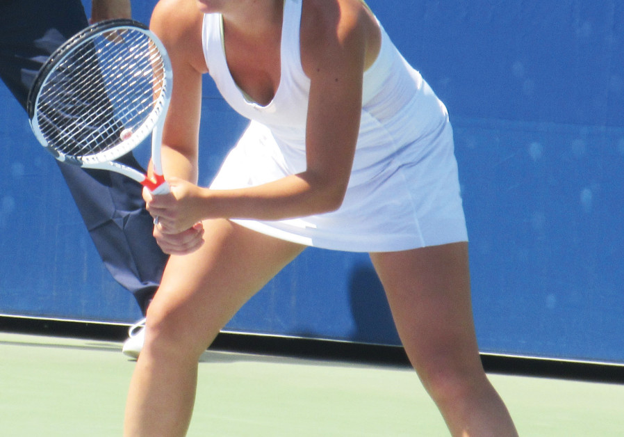After taking six years off of the professional tour, Jewish-American tennis player Gail Brodsky, 27
