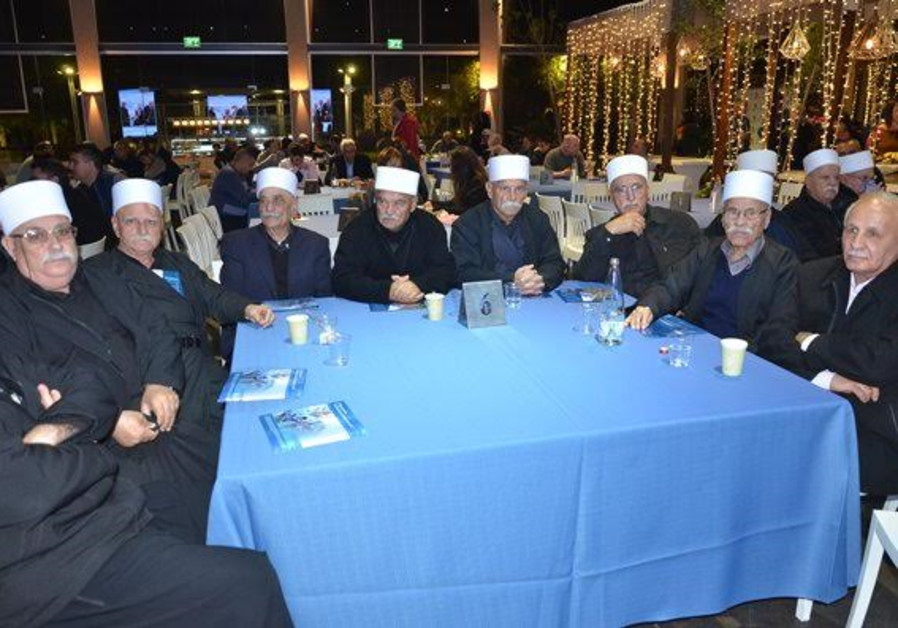 January 12, 2017- 70 years to covenant event-Druze elders-Photo credit Nurit Greenger