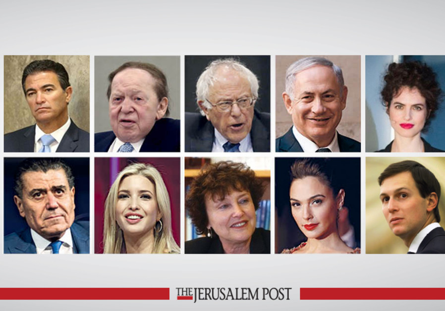 Who are this year's most influential Jews?