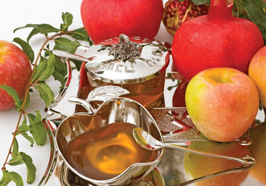 APPLES AND honey: The classic Rosh Hashanah combination.
