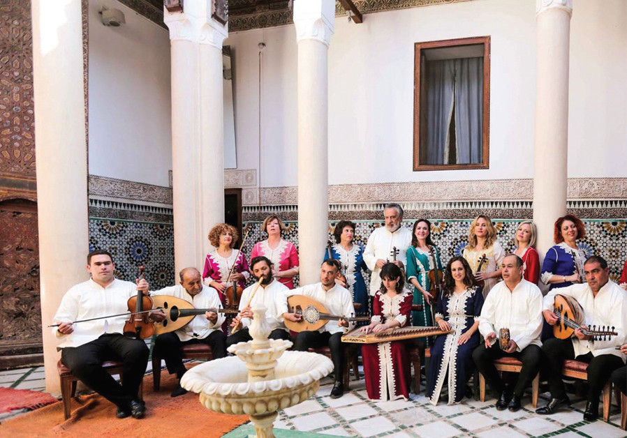 The Israel Andalusian Orchestra – Ashdod in performance