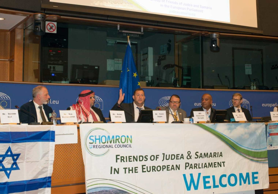 Pro-Israel MEPs angry at Mogherini for not meeting settler