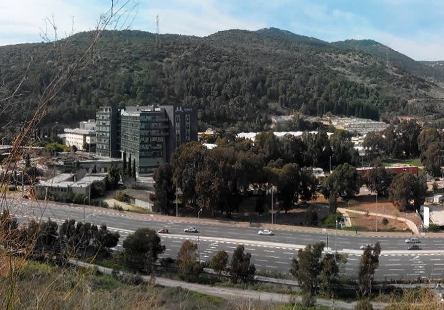 View of Yokneam's high-tech area