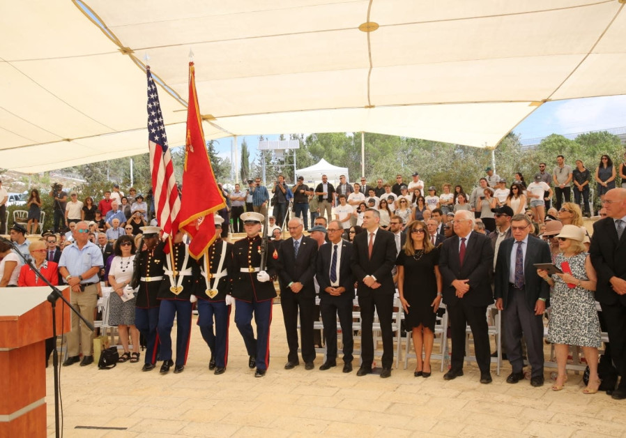Attendees gather last week to honor the memory of those who perished on the September 11 attacks at