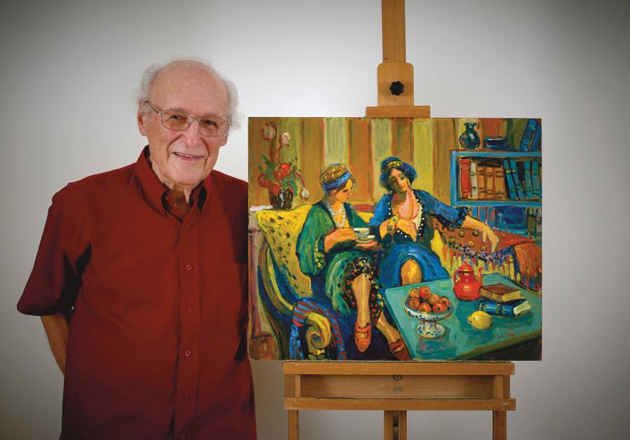 AVI SCHWARTZ displays his work