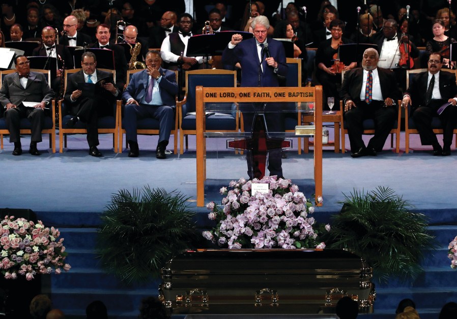 WHY WAS Bill Clinton on the same stage of Louis Farrakhan.