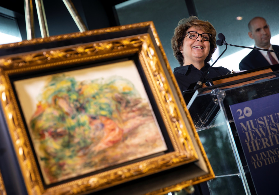 Nazi-looted Renoir painting returned to last heir of Jewish art dealer