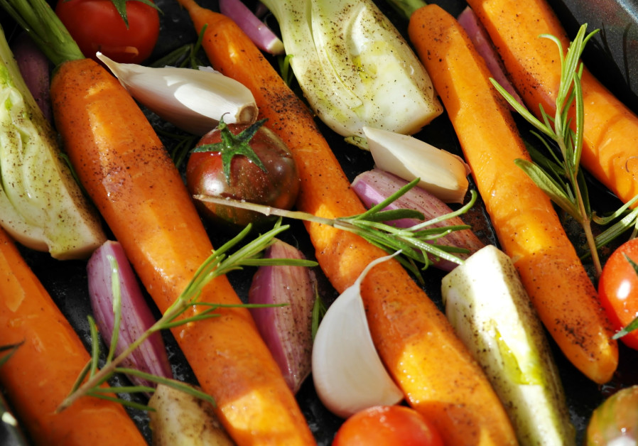ROASTED VEGETABLES prepared ahead of time are a godsend to the overextended cook