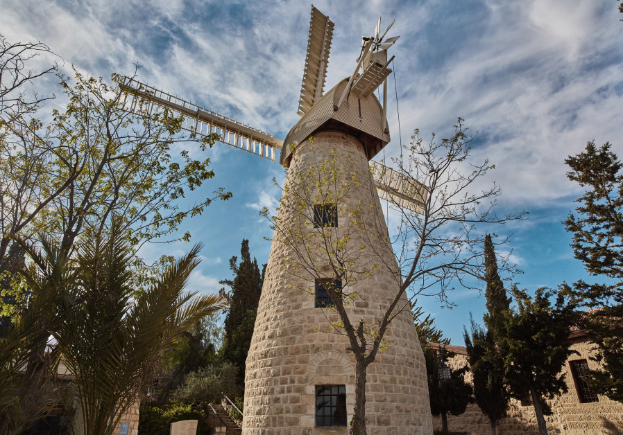 THE MONTEFIORE Windmill, today the official tasting room of Jerusalem Vineyard Winery