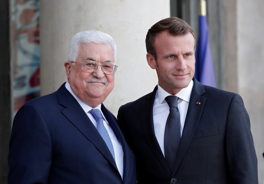 PA President Abbas to French leader: 'We can resume negotiations'