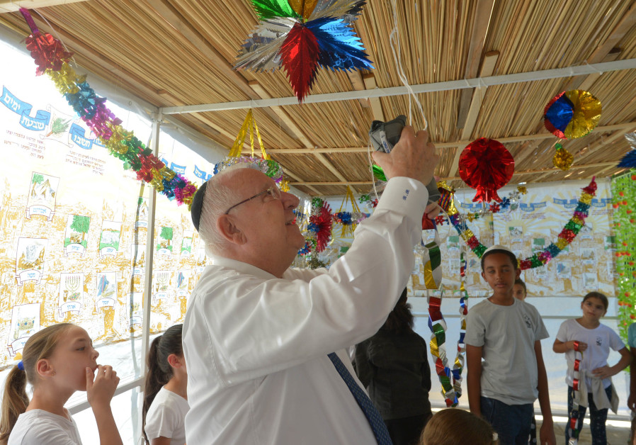 Celebrating health in the President's sukkah