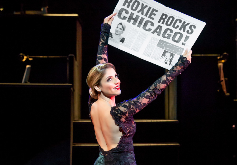Shiri Maimon in her Broadway debut in 'Chicago,' September 2018