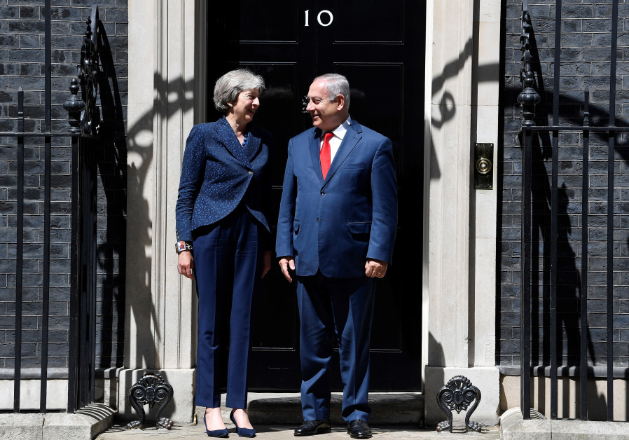 Theresa May Netanyahu