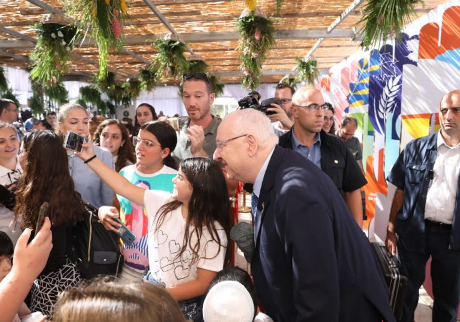 President Reuven Rivlin meets with the public, September 27, 2018