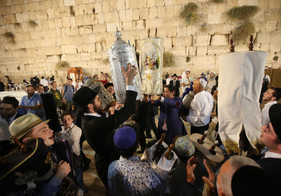 WATCH: Hakafot at the Western Wall for Simchat Torah