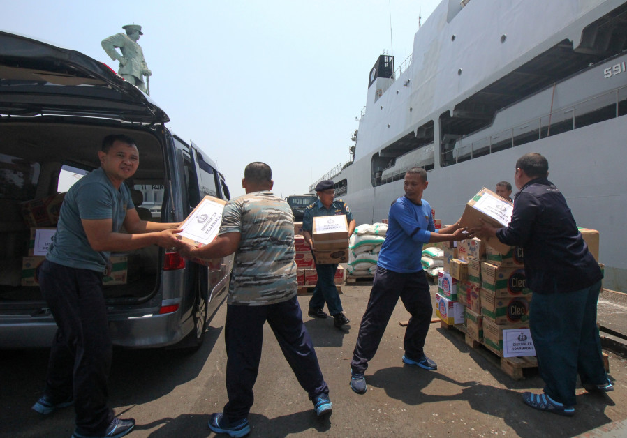 South African aid group arrives in Indonesia