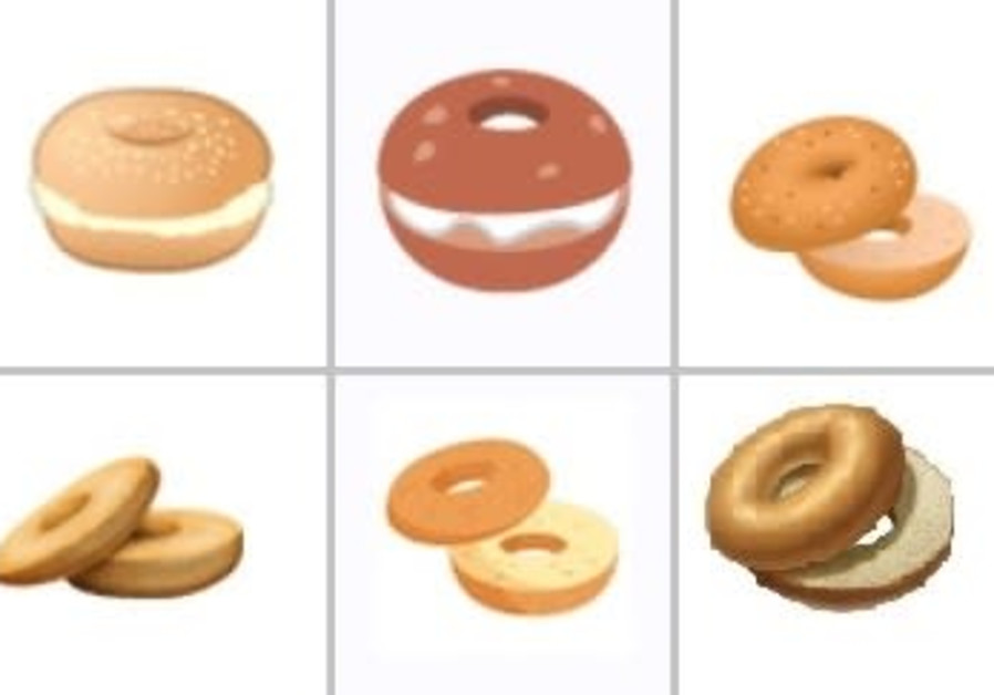 Bagel emojis